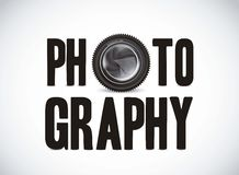 Photography with camera lens Royalty Free Stock Image
