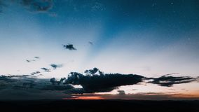 Photography of Clouds during Dawn Royalty Free Stock Images