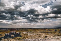 Photography of Cloudy Skies Royalty Free Stock Photos