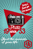 Photography color banner Stock Photo