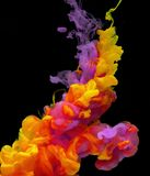 Photography of Colorful Smoke Royalty Free Stock Photos