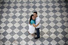 Photography of Couple Hugging Each Other Royalty Free Stock Photo