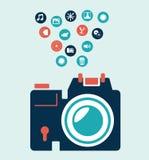 Photography design Stock Image