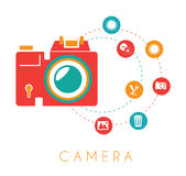 Photography design Royalty Free Stock Photography