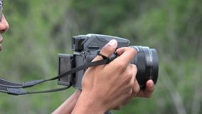 Photography And Digital Camera Technology stock footage