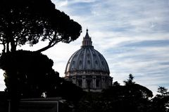 Photography of the Vatican, Vatican City. stock image