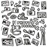 Photography Doodles Stock Photography