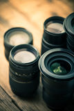 Photography dslr lenses Stock Photography
