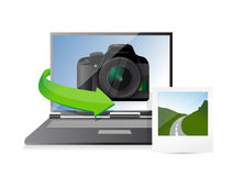 Photography editing concept Royalty Free Stock Photo