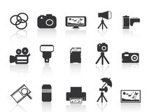 Photography element icon Royalty Free Stock Photography