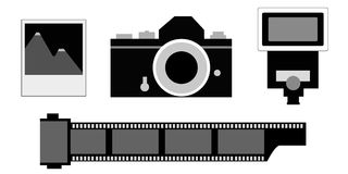 Photography elements Royalty Free Stock Photos