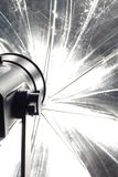 Photography Equipment. Photography Strobe Head shot with canon 350d and 100mm Macro lens Stock Photos