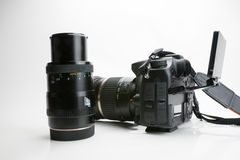Photography Equipment, Digital photo camera Royalty Free Stock Photography