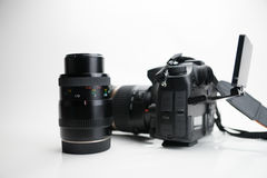 Photography Equipment, Digital photo camera Royalty Free Stock Photos
