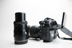 Photography Equipment, Digital photo camera Stock Photography