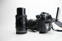 Photography Equipment, Digital photo camera Royalty Free Stock Image