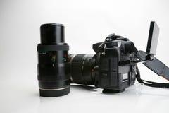 Photography Equipment, Digital photo camera Stock Photo