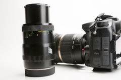 Photography Equipment, Digital photo camera Stock Image