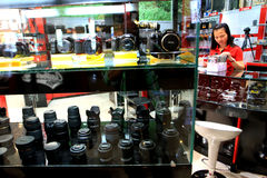 Photography equipment Stock Photo