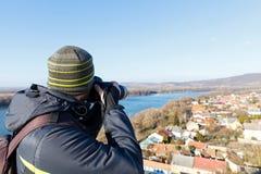 Photography in Esztergom, Hungary Stock Image