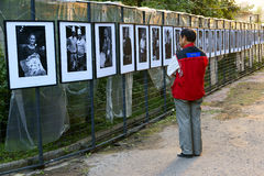 Photography exhibition Royalty Free Stock Photos