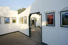 Photography exhibition Stock Images