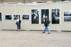 Photography exhibition Stock Image