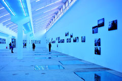 Photography exhibition hall Stock Photo