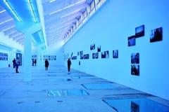 Photography exhibition hall. Use idle factory floor as a photography exhibition hall,in Changzhou city,Jiangsu,China Stock Photo