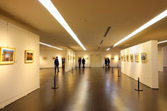 Photography exhibition Royalty Free Stock Image