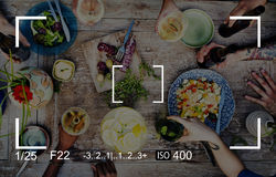 Photography Focus Camera View Concept.  royalty free stock photography
