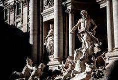 Photography of the Fontana di Trevi, Rome. stock photos