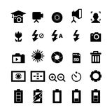 Photography icon Stock Photos
