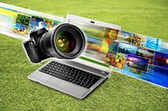 Photography & Image Sharing Concept Royalty Free Stock Images
