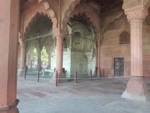 Photography indian red fort stock photo