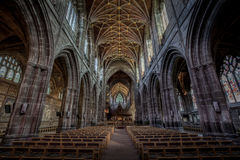 Photography Inside Cathedral Royalty Free Stock Image