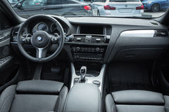 Photography of interior new bmw X1 model Stock Image