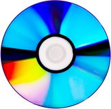 A photography of a isolated cd rom Stock Image