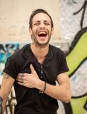 Photography of laughter and joy royalty free stock photo