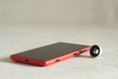 Photography lens for smartphone Stock Photo