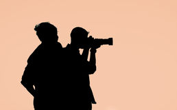 The Photography lessons Royalty Free Stock Images