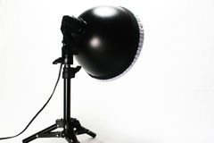 Photography lighting. Photographs special purpose equipment's photography luminaire Royalty Free Stock Image