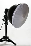 Photography lighting. Photographs special purpose equipment's photography luminaire Stock Image