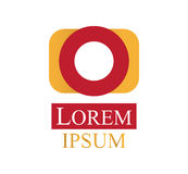 Photography Logo Design Stock Image