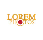 Photography Logo Design Royalty Free Stock Images