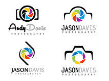 Photography Logo Royalty Free Stock Images
