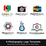 Photography Logo Template Design Vector Royalty Free Stock Photography