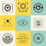 Photography Logos Royalty Free Stock Images
