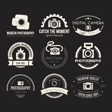 Photography Logos Stock Image