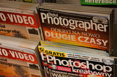 Photography magazines Stock Images